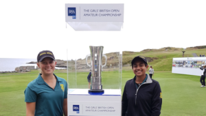 South African juniors Kajal Mistry and Caitlyn Macnab