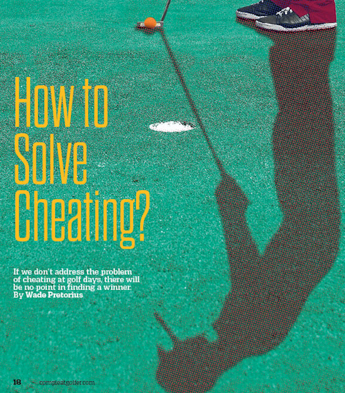 Cheating in golf