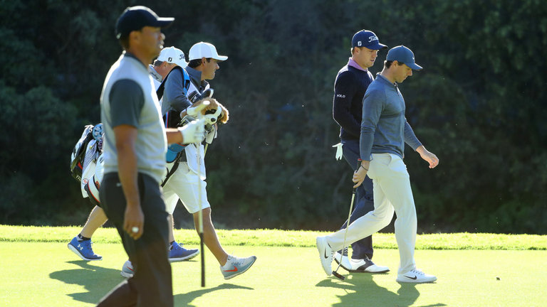 Rory, Tiger, JT at the PGA Championship