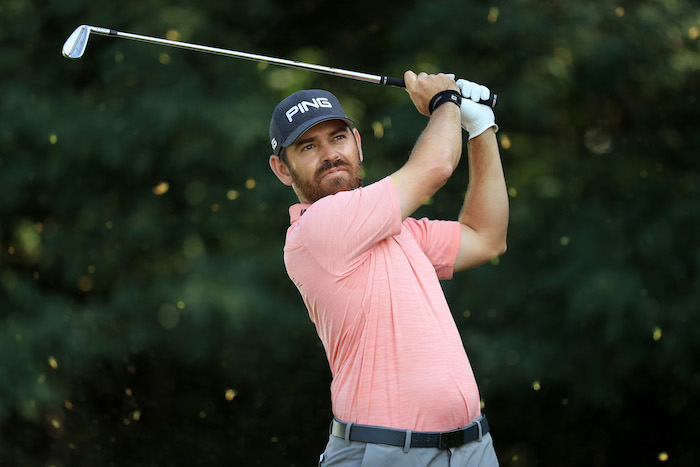 Louis Oosthuizen of South Africa