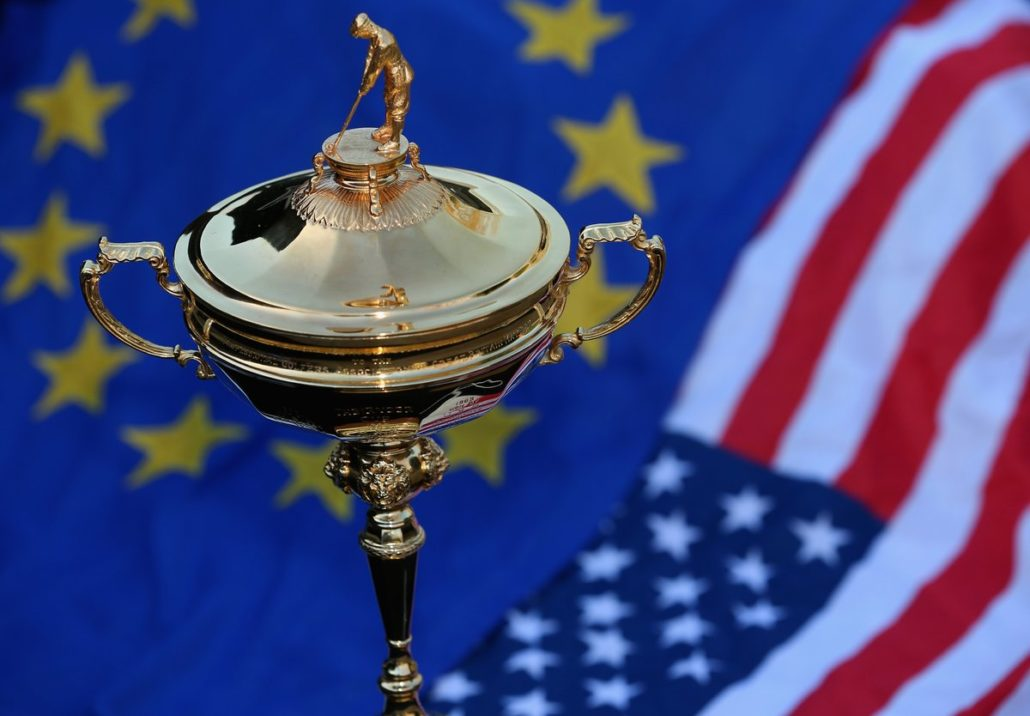 Team Europe at the Ryder Cup