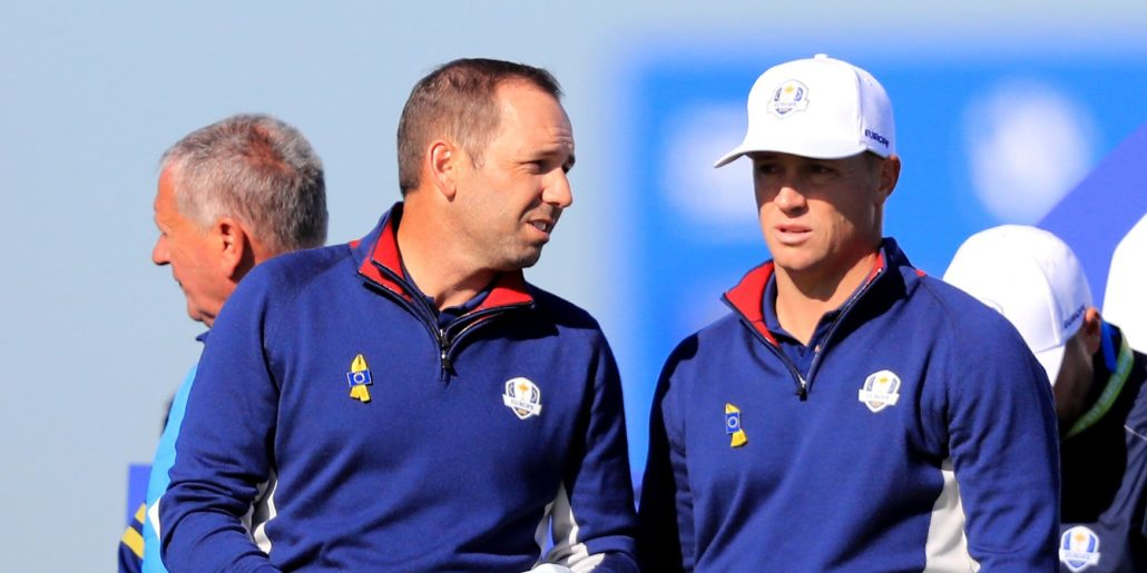 Ryder Cup day one