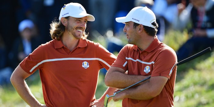 Molinari and Fleetwood lead Team Europe at the Ryder Cup