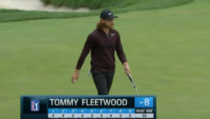 Tommy Fleetwood at BMW Champs