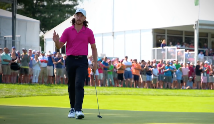 Tommy Fleetwood at the FedExCup
