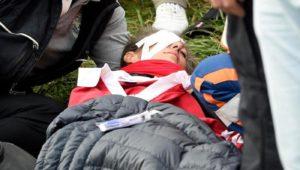 Ryder Cup fan hit by Koepka's ball