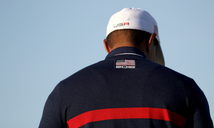 Tiger Woods of the United States