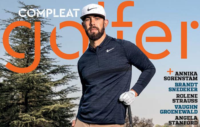 Erik van Rooyen on Comlpeat Golfer cover