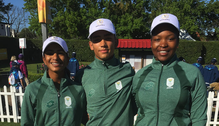 GolfRSA juniors at the Olympics
