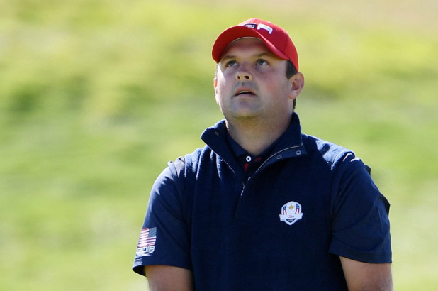 Patrick Reed at the Ryder Cup