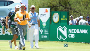 Sergio Garcia at Sun City