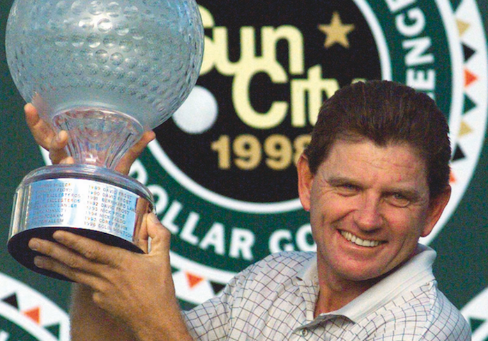 Nick Price wins Africa's Major