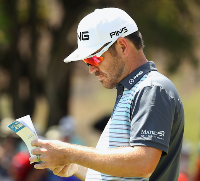 Louis Oosthuizen at NGC2018