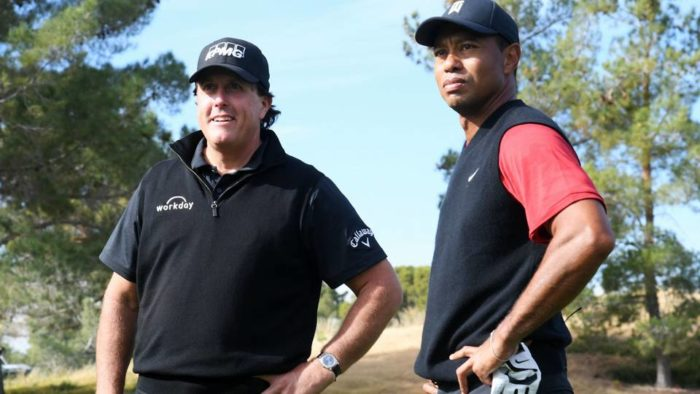 The Match: Tiger Woods vs Phil Mickelson