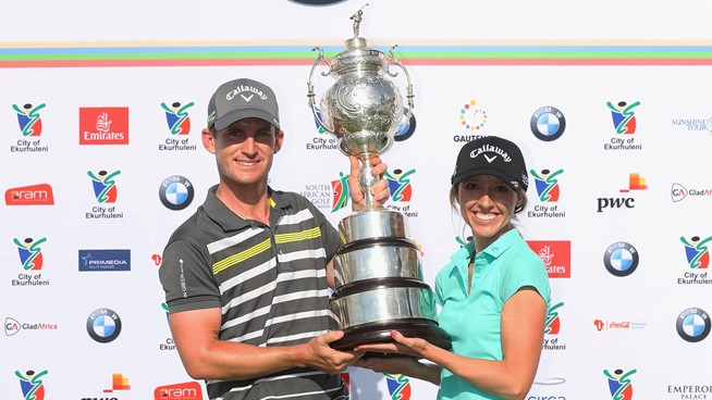 Chris Paisley wins SA Open