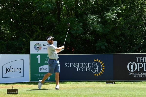 Louis Oosthuizen at the SA Open