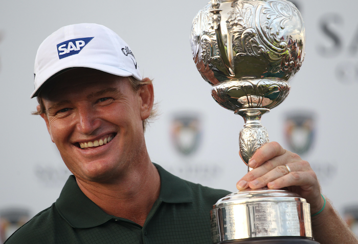Ernie Els wins the SA Open