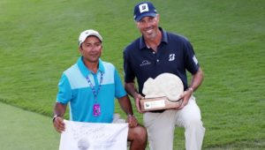 Matt Kuchar and David Ortiz aka El Tucan