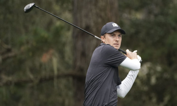 Jordan Spieth at Pebble Beach