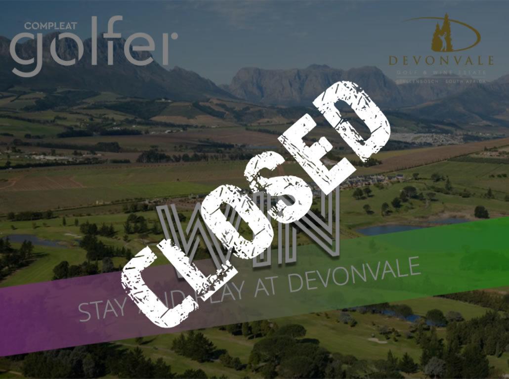 Win: A night at Devonvale plus golf and spa