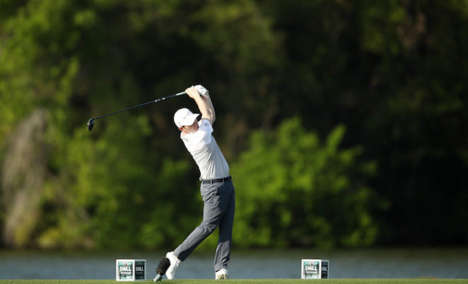Branden Grace of South Africa