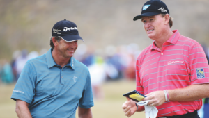 Ernie Els and Retief Goosen