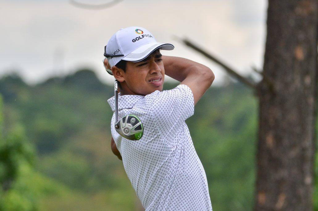 Yurav Premlall of GolfRSA