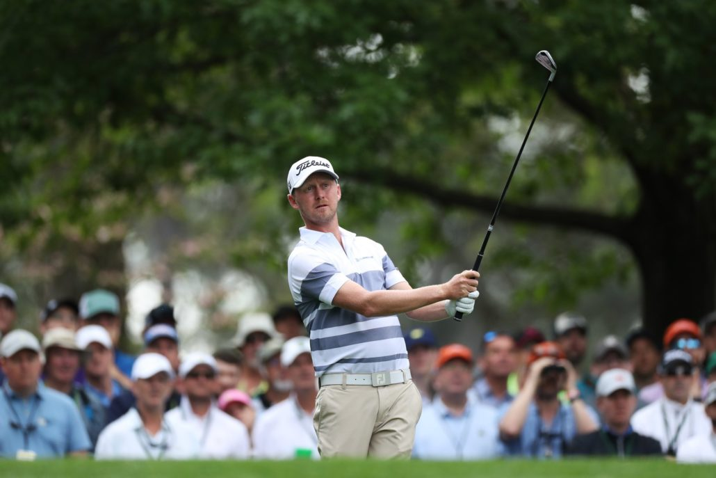 Justin Harding SA's Best After Opening Round At Augusta
