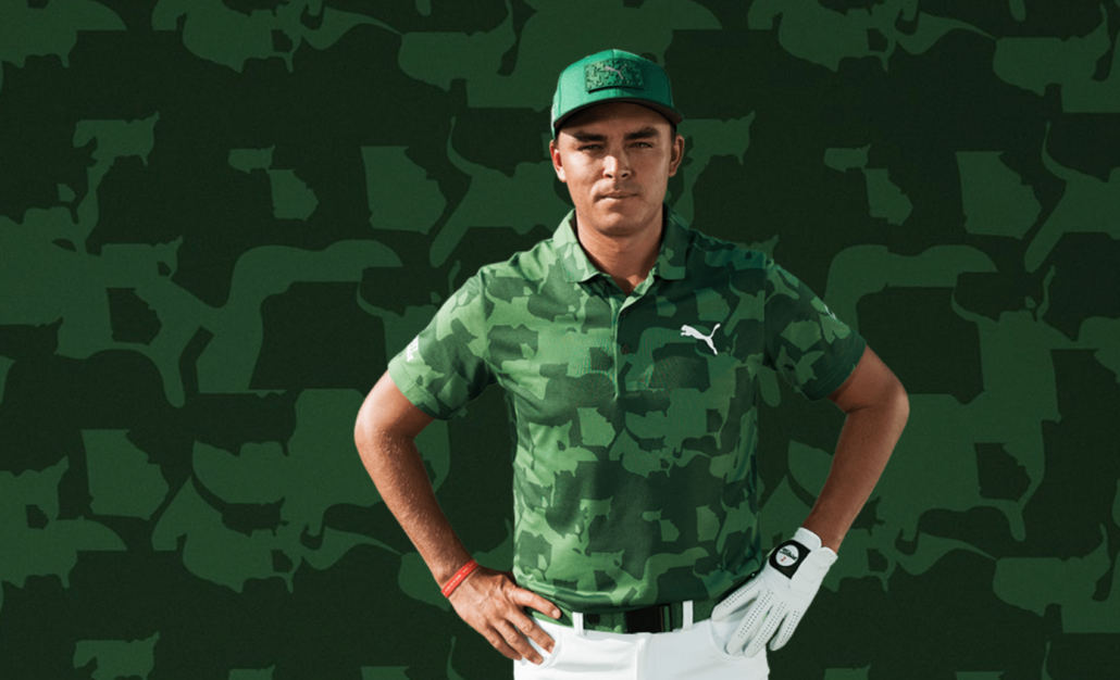 The Masters 19: Rickie's wardrobe