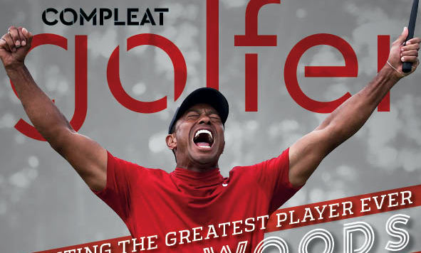Tiger Woods on Compleat Golfer