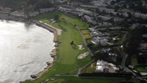 18th at Pebble Beach