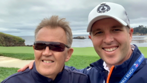 Chris Bentley at Pebble Beach