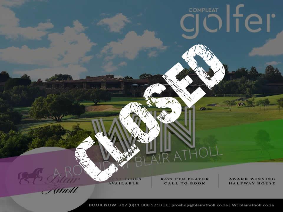 WIN: Golf at Blair Atholl