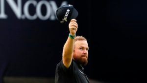 Shane Lowry at The open