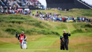 Ernie Els at The Open