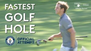 The Fastest Hole Of Golf By An Individual