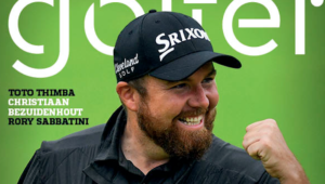 Shane Lowry on Compleat Golfer cover