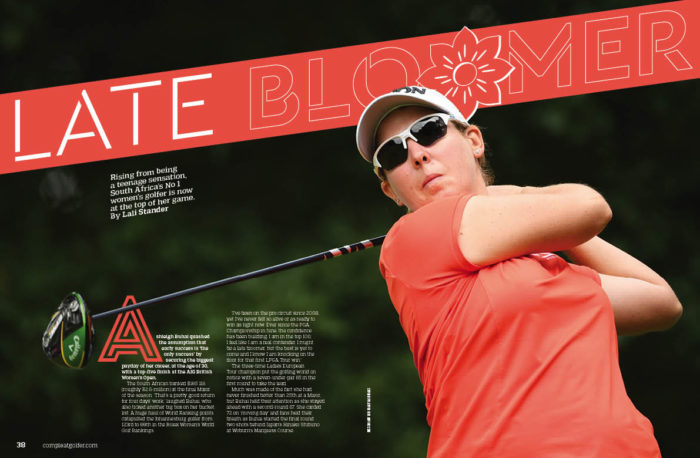 Ashleigh Buhai Late Bloomer Compleat Golfer