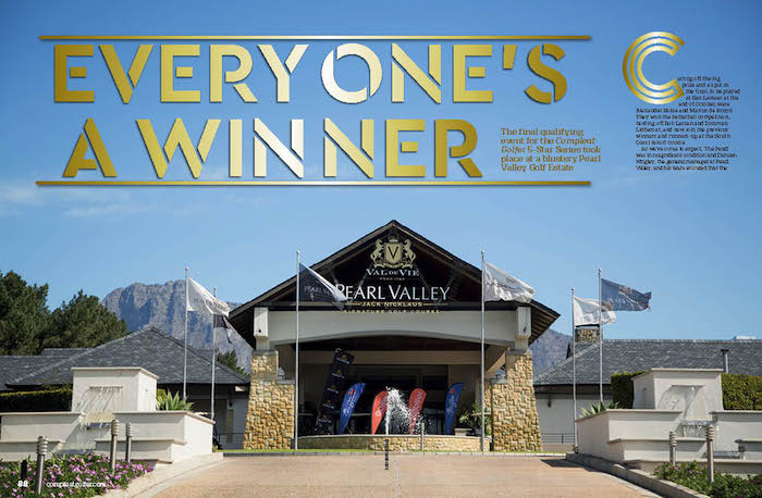 Pearl Valley hosts 5 Star golf
