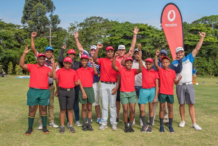 Vodacom Origins of Golf clinic