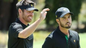 Louis Oosthuizen at the Presidents Cup