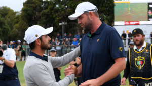 Abraham Ancer and Marc Leishman