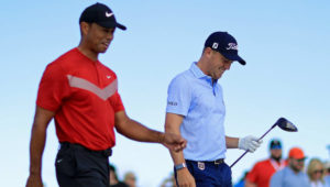 Tiger Woods and Justin Thomas