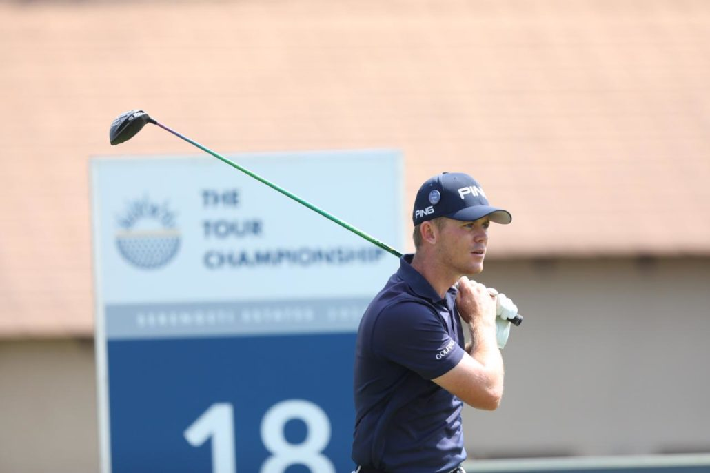 Stone two behind as Strydom leads