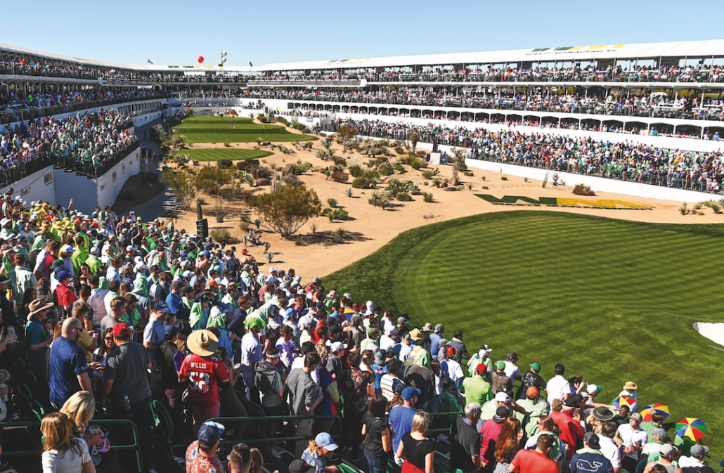 TPC Scottsdale's 16th hole