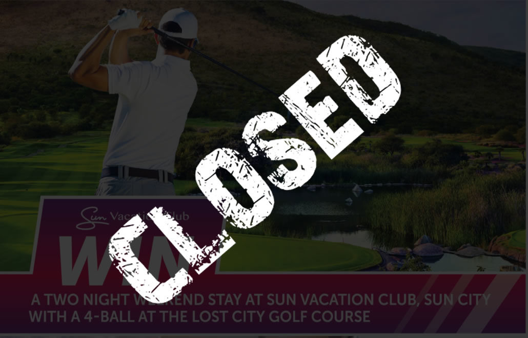 Win: Stay and play at Sun Vacation Club