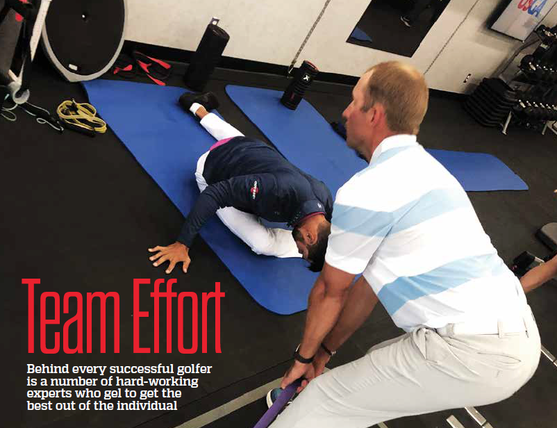 Garth Milne's fitness