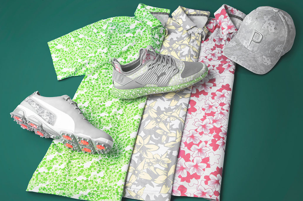 Masters themed gear from Puma
