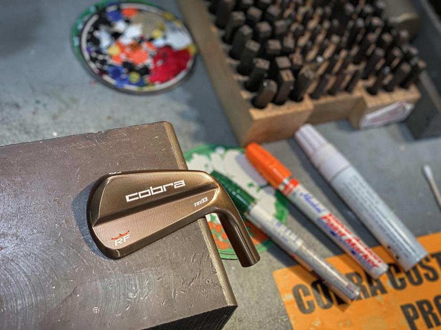 Cobra's new creation for Rickie Fowler
