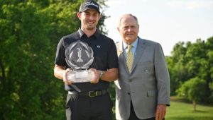Patrick Cantlay and Jack Nicklaus